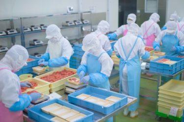 食品工場の仕事