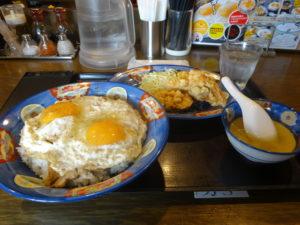 白楽天の焼豚玉子飯