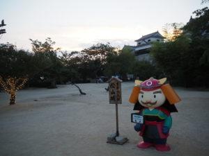 松山城本丸広場2