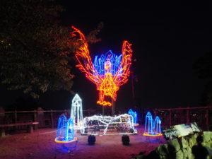 松山城の火の鳥