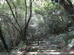 宇和島城への登坂2