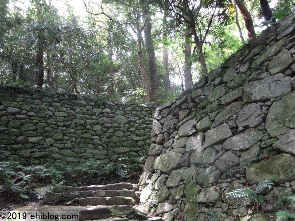 宇和島城への登坂3