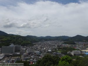 宇和島城天守からの眺め