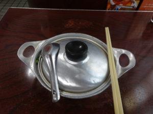 アサヒの鍋焼きうどん