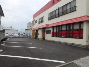 大黒屋飯店駐車場