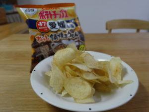 ポテトチップス松山鍋焼きうどん味2