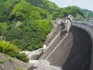 石手川ダム2