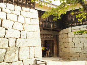 松山城の隠門