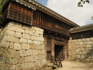 松山城の太鼓門