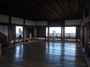 松山城天守最上階