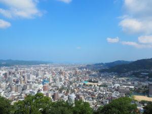 松山城から市街を望む2