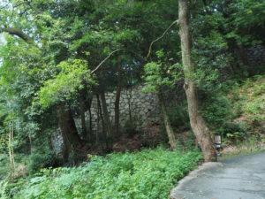 松山城登り石垣