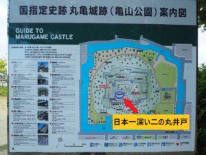 丸亀城二の丸井戸