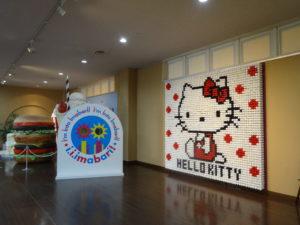 HELLO KITTY の糸巻アート3