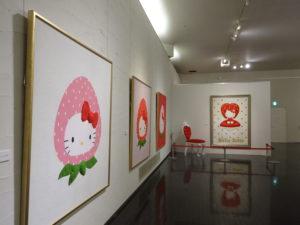 タオル美術館HELLO KITTY展7