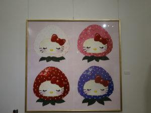 タオル美術館HELLO KITTY展8