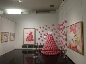 タオル美術館HELLO KITTY展9