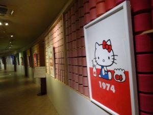 タオル美術館HELLO KITTY展10