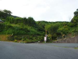 肱川あらし展望公園への道2