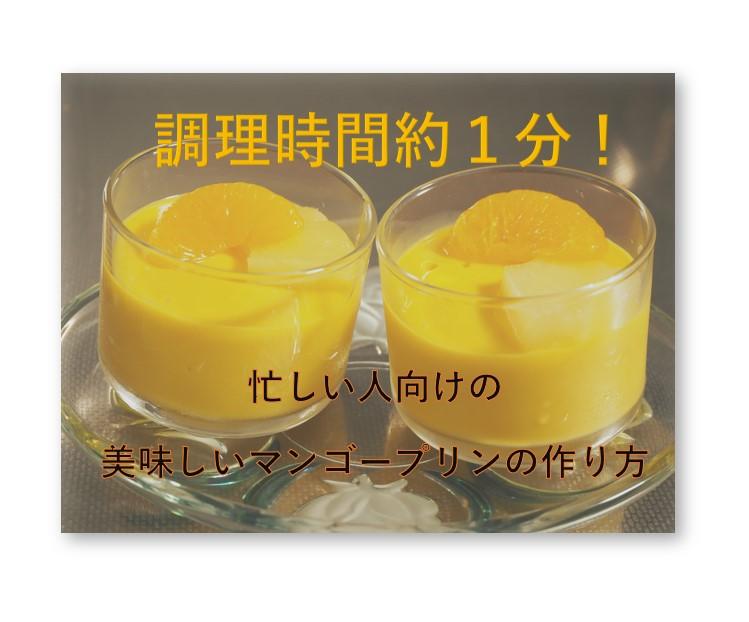 日本食研のマンゴープリンの素0