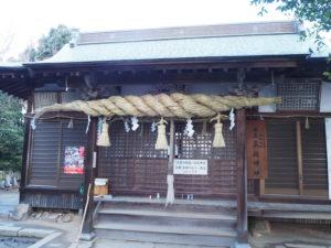 高屋神社本殿