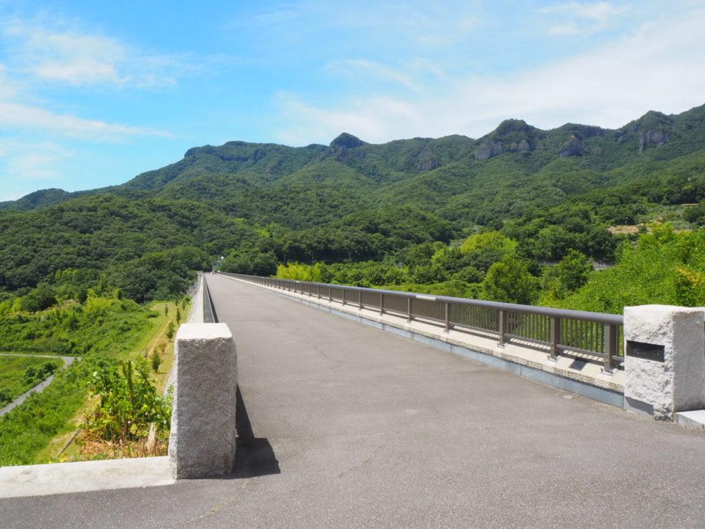香川県小豆島の内海ダム