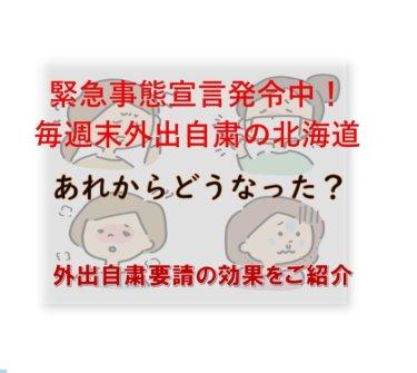 緊急事態宣言外出自粛要請後、北海道はどうなった?感染者数はどう変わった?【新型コロナウイルス】