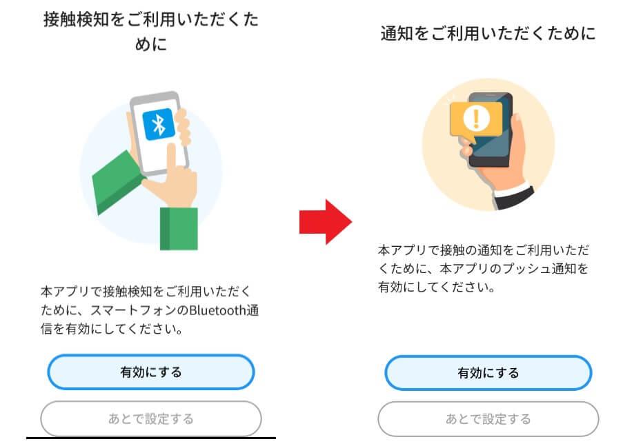 新型コロナ接触確認アプリ