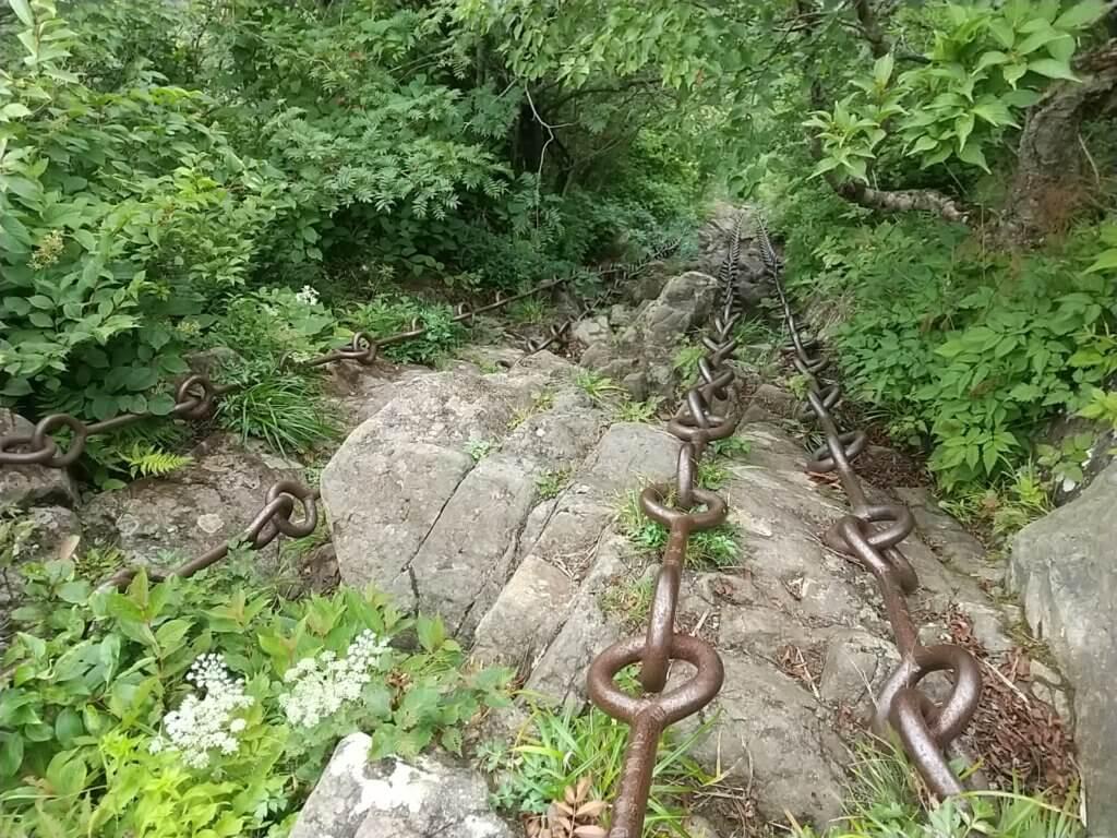 石鎚山三の鎖