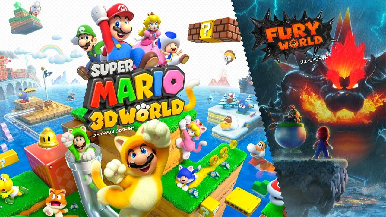 ニンテンドースイッチ「スーパーマリオ3D」