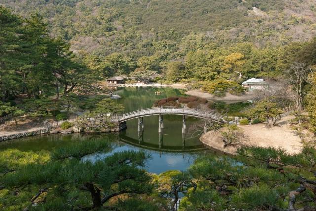 香川県「栗林公園」
