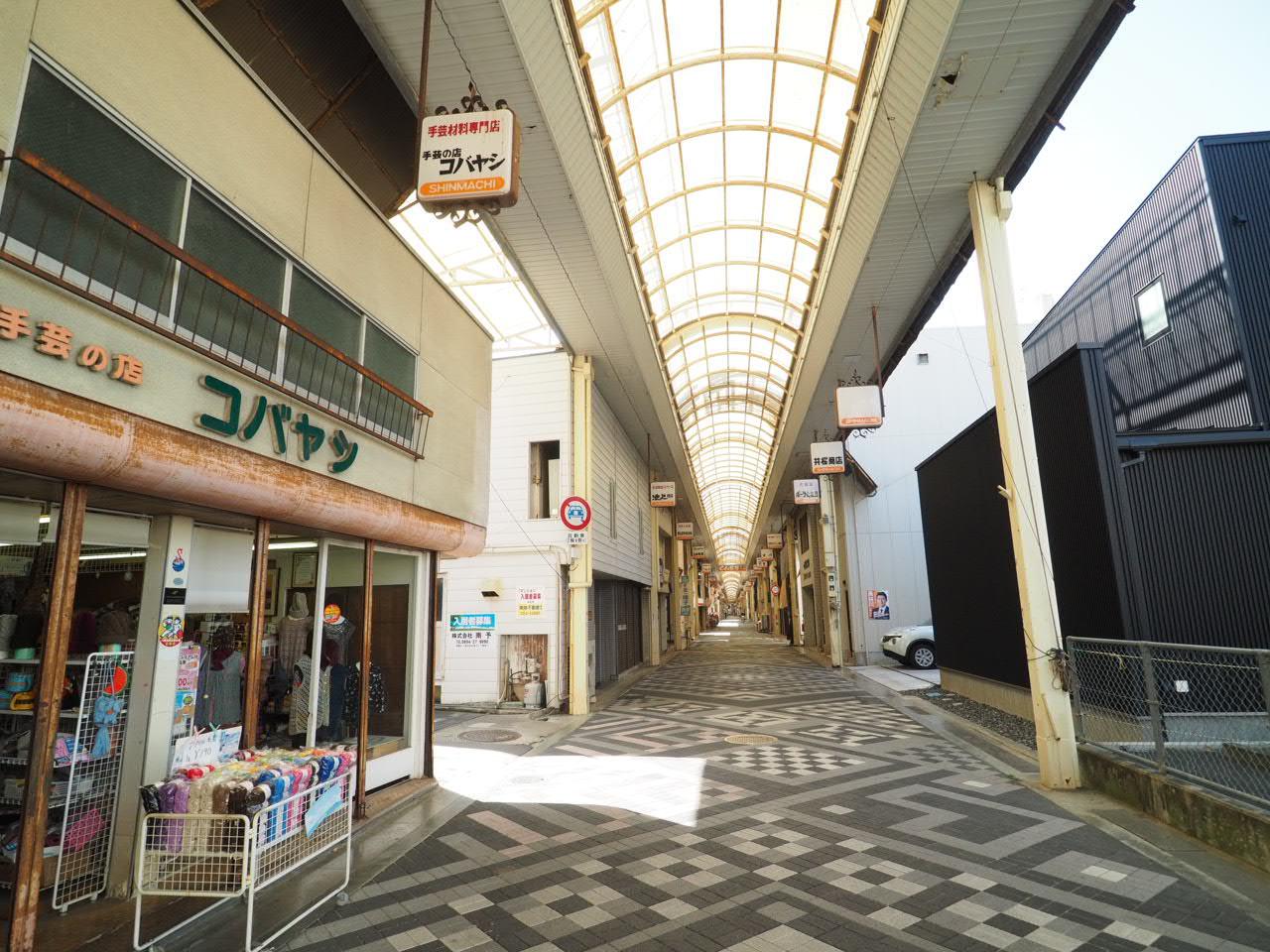 八幡浜市「新町商店街」
